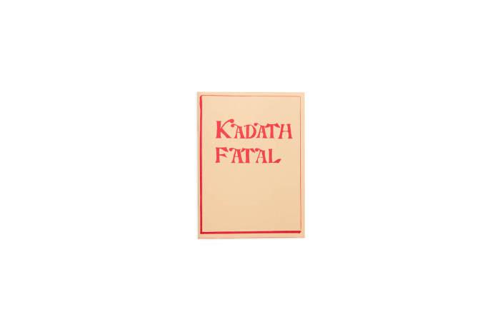 Henning Bohl: Kadath Fatal
