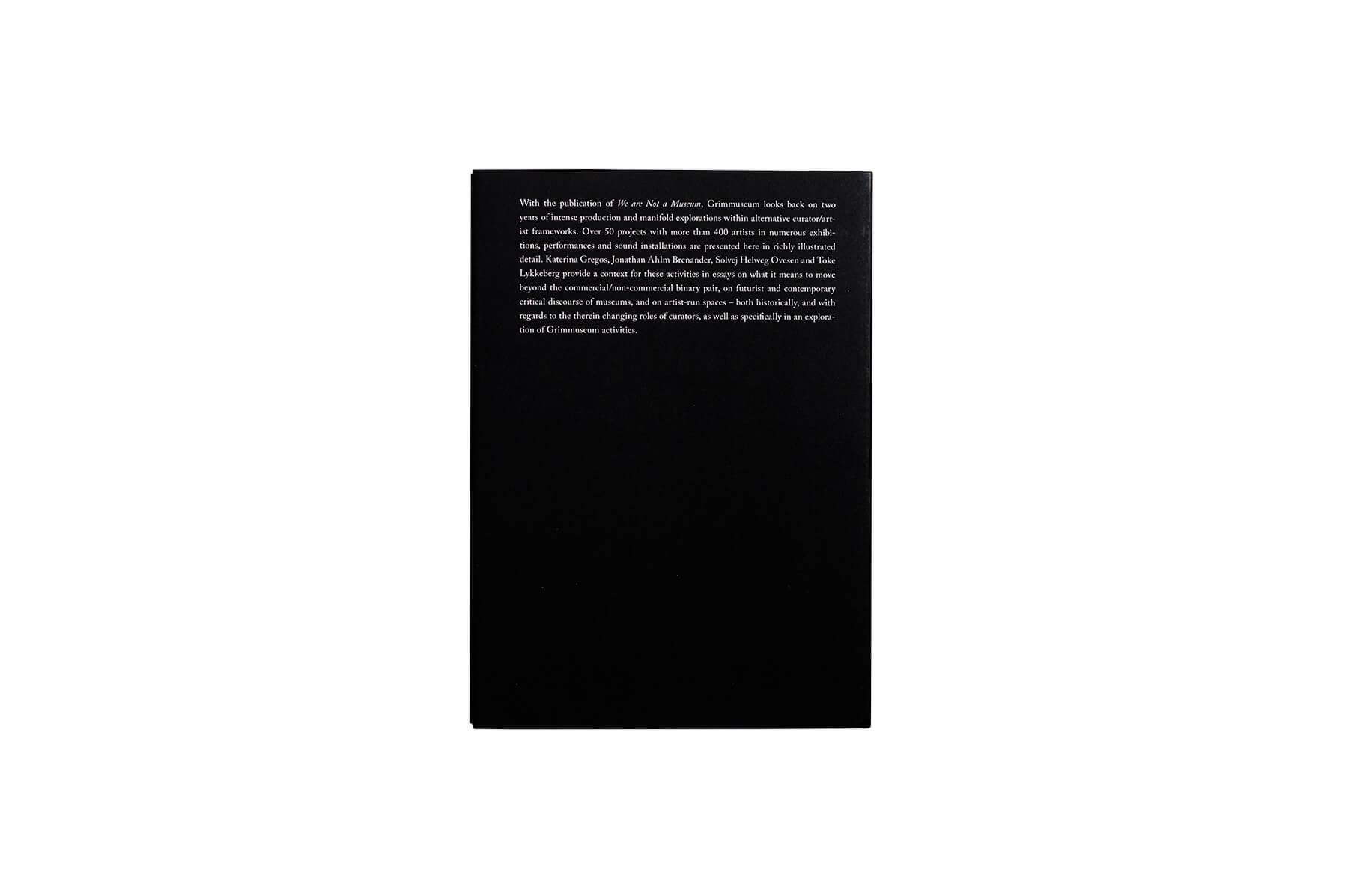 Product image of Grimmuseum: We are not a museum