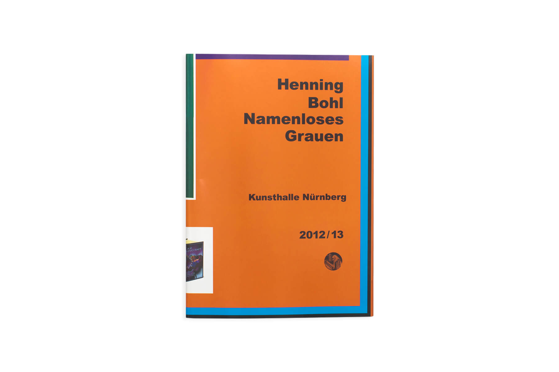 Product image of Henning Bohl: Namenloses Grauen