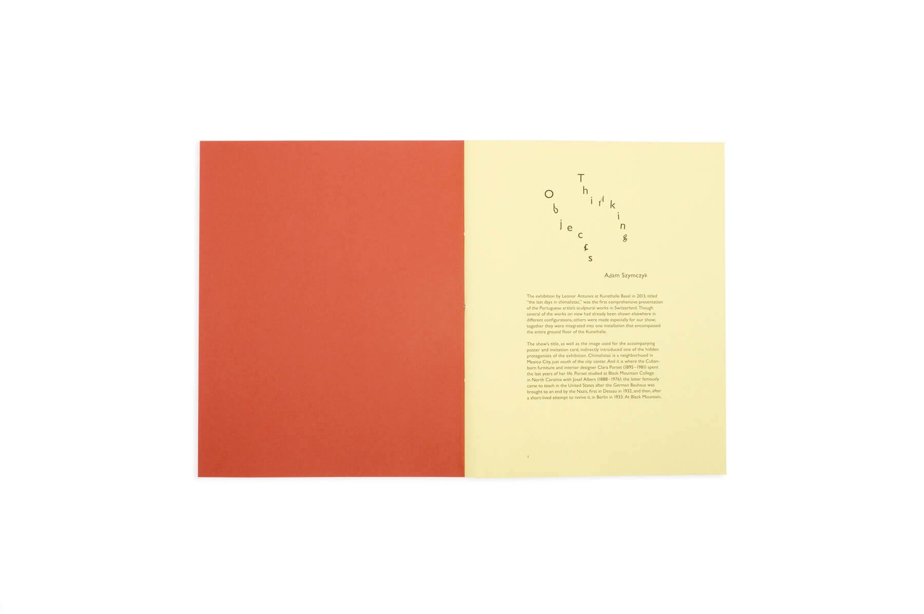 Product image of Leonor Antunes: the last days in chimalistac