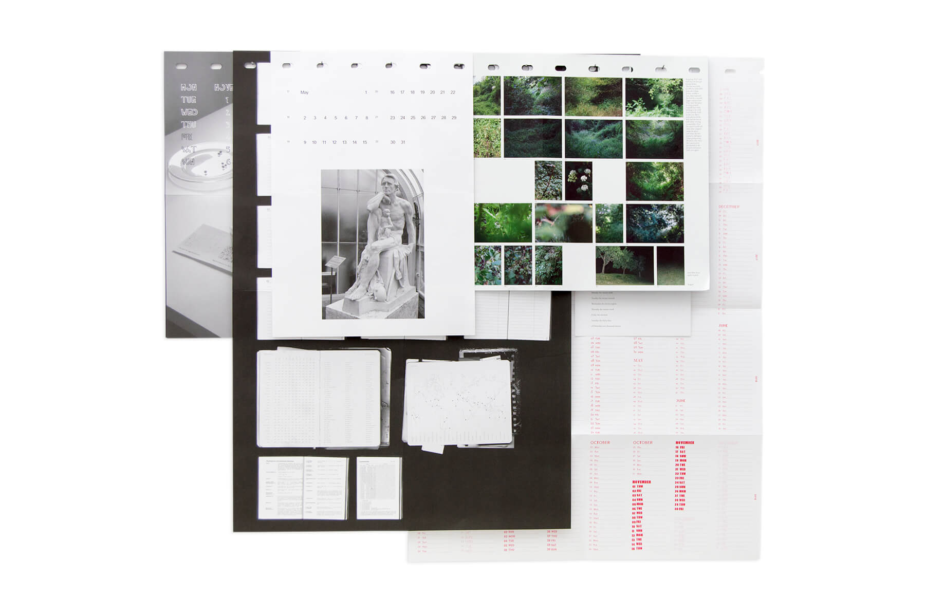 Product image of Loose Leaf Wall Calendar 2016