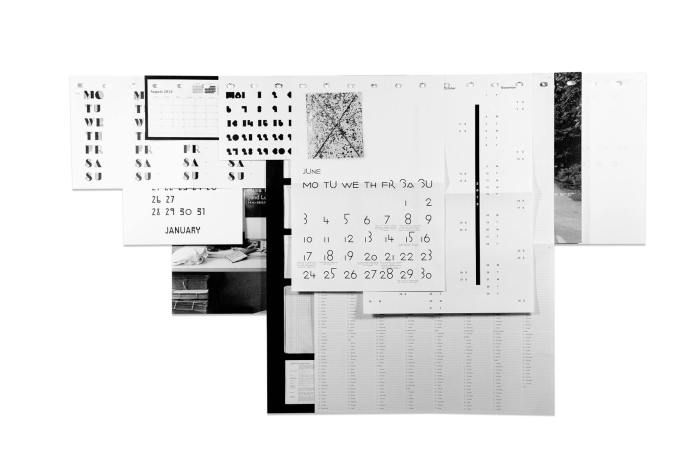 Studio Manuel Raeder: Loose Leaf Wall Calendar 2013