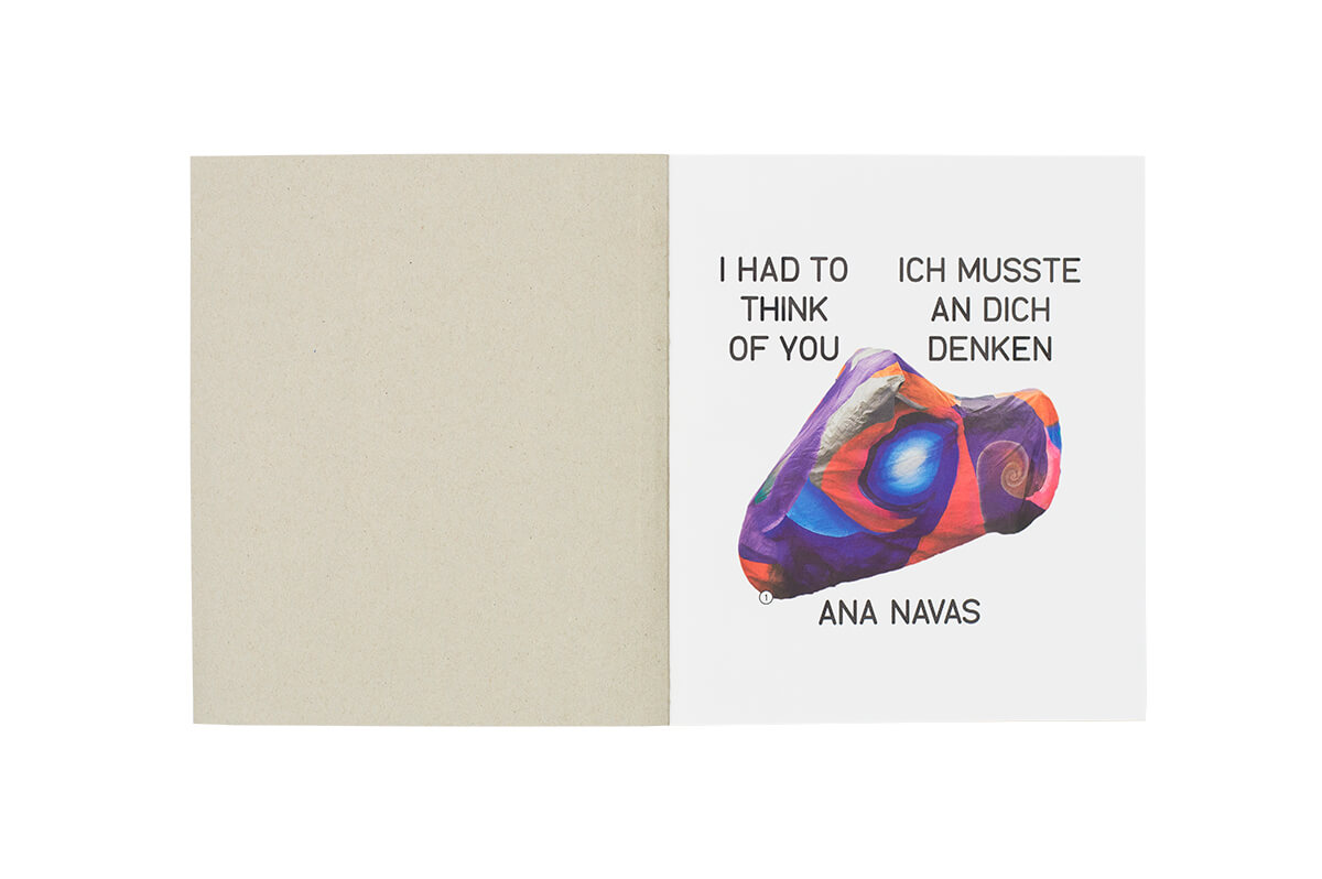 Product image of Ana Navas: I had to think of you / Ich musste an dich denken
