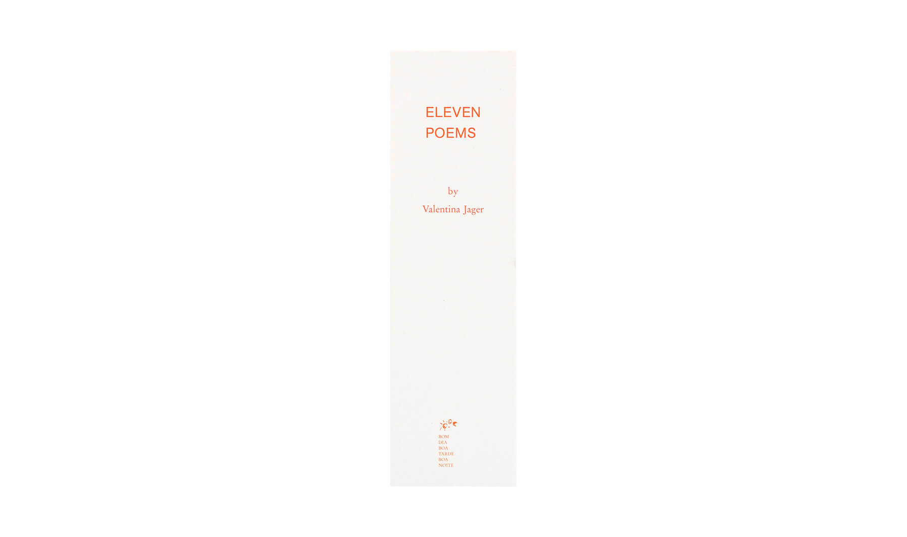 Product image of Eleven Poems
