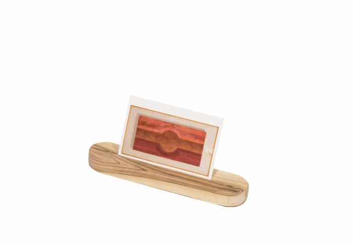 Product image of Olive Card Stand (short)